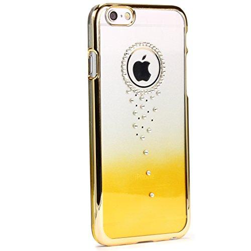 iPhone 6 / 6S Schutzhülle Original Urcover® Glitter Series Backcase Handyhülle [DEUTSCHER FACHHANDEL] Schutz Hülle für das Apple iPhone 6 / 6s Case Cover Schale Flip Tasche Etui Variante 1 Variante 9
