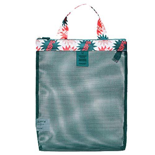 MA87 Strand Tote Bags Tragetasche Spielzeug Swimmingpool Mesh Bag Sea Shell (B)