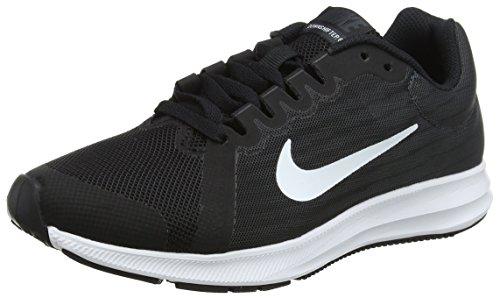 Nike Jungen Downshifter 8 Laufschuhe, Schwarz (Black/White-Anthracite 001), 37.5 EU
