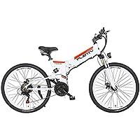 JPFCAK, Eléctrico, Bicicleta, Plegable, Montaña, Bicicleta, Vespa, PLENTY Bicicleta