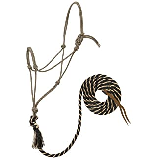 Weaver Leather Silvertip #95 Rope Halter with 12-Feet Lead 6