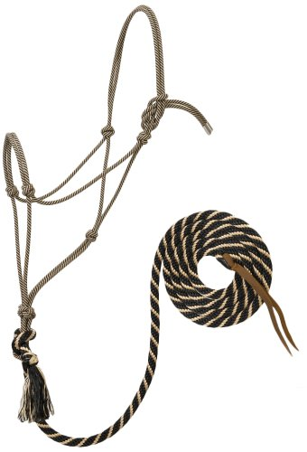 Weaver Leather Silvertip #95 Rope Halter with 12-Feet Lead 1