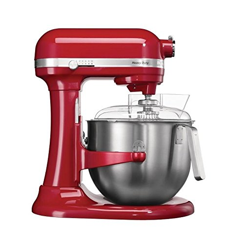 Kitchenaid 5KSM7591XBER Planetary Food Mixer, 6.9 L, Red