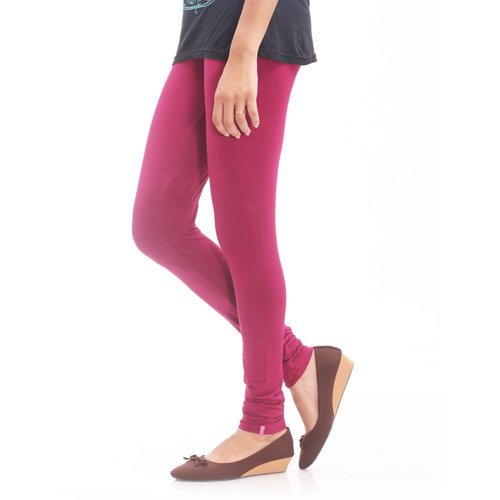Prisma Women's Viscose Legging (Prisma_46_Lt.Purple_X-Large)