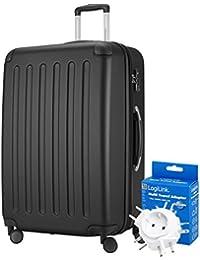 Principal Ciudad maletín ® 128L XL–Maleta de viaje · Spree · TSA · Mate · (en varios. Colores) + Adaptador de viaje