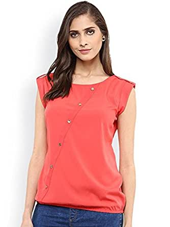 bf58d2672 J B Fashion Women s Western Wear Crepe Top  Amazon.in  Clothing ...