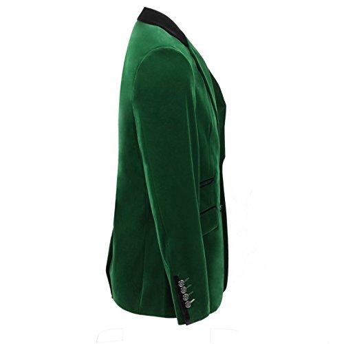 Xposed Herren Anzugjacke * One size Smaragdgrün