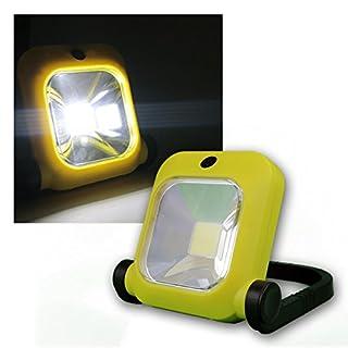 ChiliTec LED Baustrahler mit Akku, 1x 20W LED, 230V, 1600 Lumen, 4500K / neutralweiß