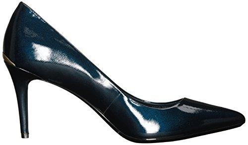 Calvin Klein Gayle Spitz Lackleder Stöckelschuhe Deep Navy