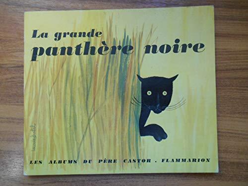 La grande panthère noire / François, P / Butel, L / Réf52381