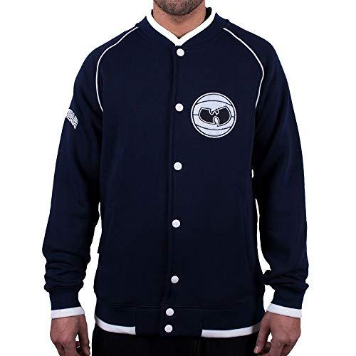 Wu Wear - Wu Tang Clan- Wu Wear Basketball Sweat Jacket - Wu-Tang Clan Größe XL, Farbe Navy