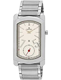 Maxima Attivo Collection Analog White Dial Men's Watch - 30351CMGI