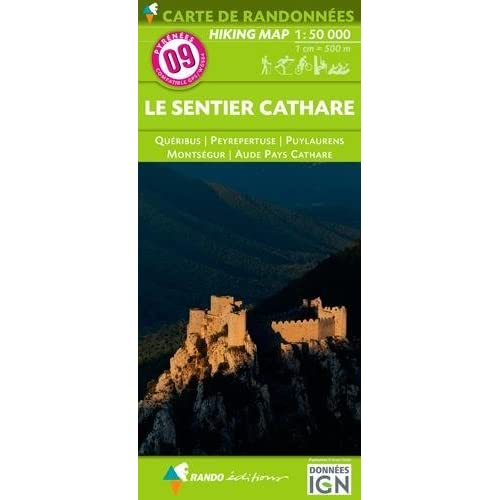 Sentier Cathare - Queribus - Peyrepertuse 9 2016: RANDO.09 (French Edition) by Unknown(2016-03-11)