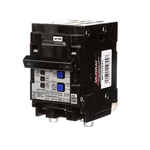 Murray mp220afc 20-amp 2Pole 120-volt Kombination Typ Arc Fault Circuit 13479 (Siemens Fault Arc)