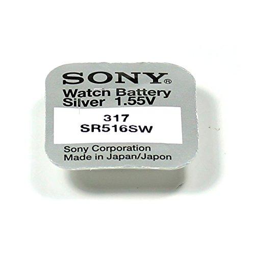 1 Pile SONY 317 - SR516SW - 0% Mercure