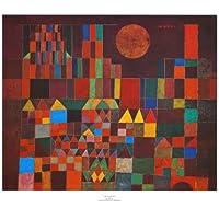 Paul Klee – Castello e sole Stampa Artistica (66,04 x 55,88 cm)