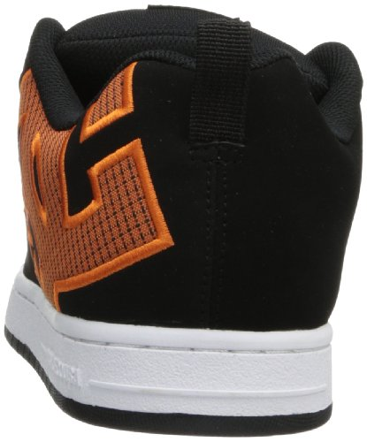 DC Shoes Court Graffik, Chaussures de skate homme Arancione (Orange)