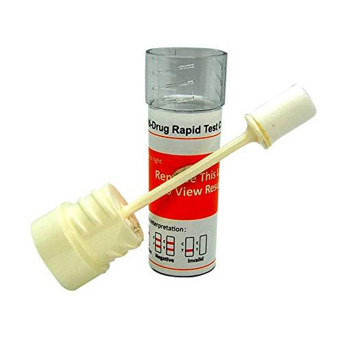 DSD-867 Kits de test salivaire multi-drogues 6-en-1Cannabis Cocaïne Amphétamines...