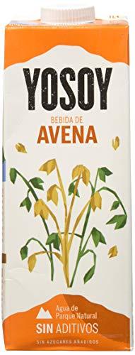 YOSOY BEBIDA VEGETAL DE AVENA 1L - Caja de 6x1000ml - Total 6000 ml