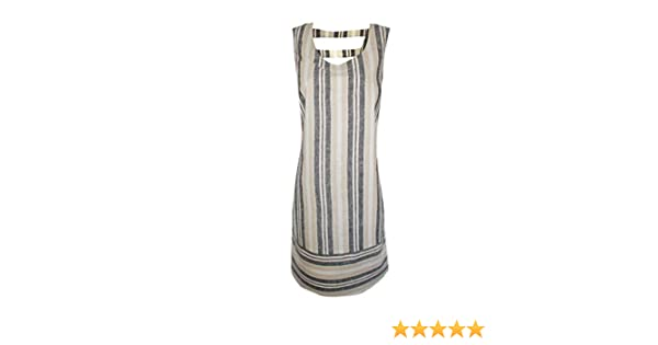 801f0e3957 Chainstore Ex TU Womens Shift Dress Striped Linen Size 18 (18)  Amazon.co.uk   Clothing
