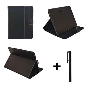 """Noir PU cuir Étui-support housse en pour Archos 101 Xenon 10.1"""" 10.1 pouce inch tablette PC + Stylet"""