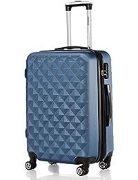 Zwilling 2066 - Juego de maletas rígidas con ruedas, varios tamaños y colores