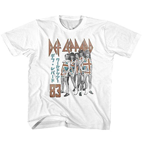 Def Leppard 83 T-shirt for kids, 2 to 4 years