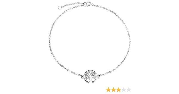 Planetys Bracelet Ancre Homme et Femme Corde Noir et Acier 316L Plaqu/é Or 18 carats