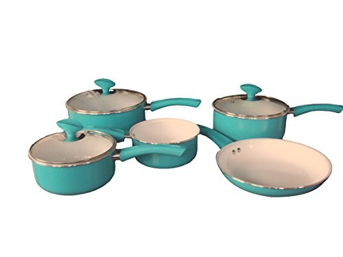 Familia huevo pato-Batería cocina 5piezas