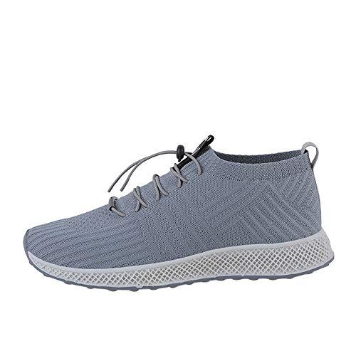 Herren Sneakers Schuhe Mumuj Jungen Sommer Socken Bequierable Laufschuhe Männer Mesh Freizeitschuhe Schnür Socke Trainer Outdoor Schuhe