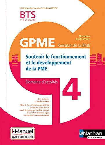 Domaine d'activité 4 - Soutenir le Fonctionnement et le Développement de la PME par Hélène De Mari