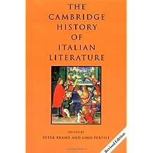 Camb Hist Italian Lit rev edition