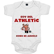 Body bebé soy del Athletic como mi abuelo Jorge Crespo Cano dc4ba41eb5222