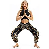 Luckycat männer Frauen lässig, locker - Yoga - Hose Baggy Boho - Harem Pants Damenmode 2018