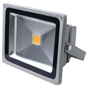 5× Auralum® Spots Éclairage 50W IP65 LED Projecteur Lumière IP65 Blanc chaud 2800-3200K 4500Lumen