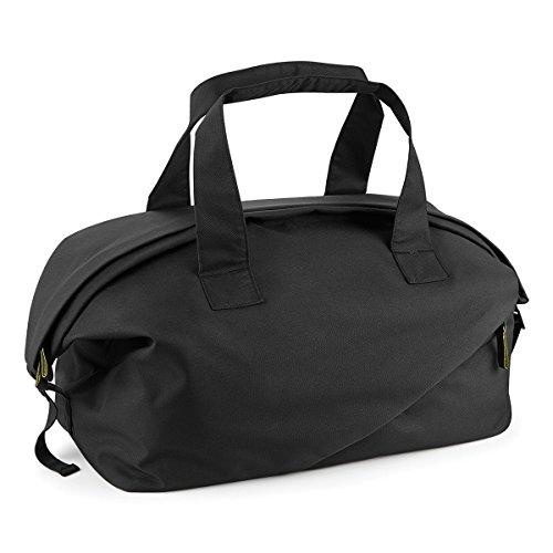 BagBase Borsone da Viaggio Affinity re-pet weekender 54x28.5x29cm 30L Black