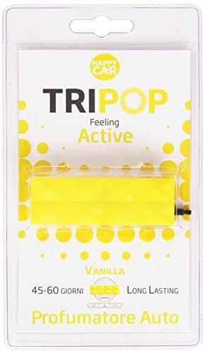 Preisvergleich Produktbild Tripop–Lufterfrischer Auto Vanilla, Long Lasting 45–60Tage