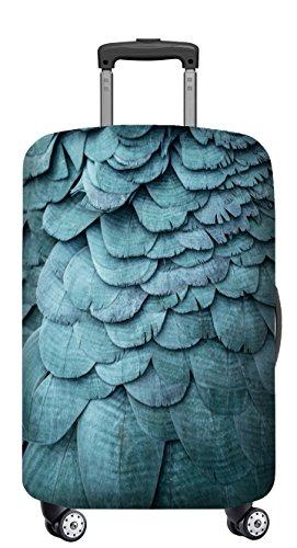 VELOSOCK Copertura per Bagagli BLUE BIRD - mantiene la Valigia da Viaggio Pulita e Protetta - PER TUTTI I BAGAGLI A MANO (45-55 cm di altezza)