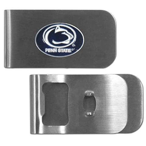 NCAA Penn State Nittany Lions Bottle Opener Money Clip by Siskiyou Gifts Co, Inc.