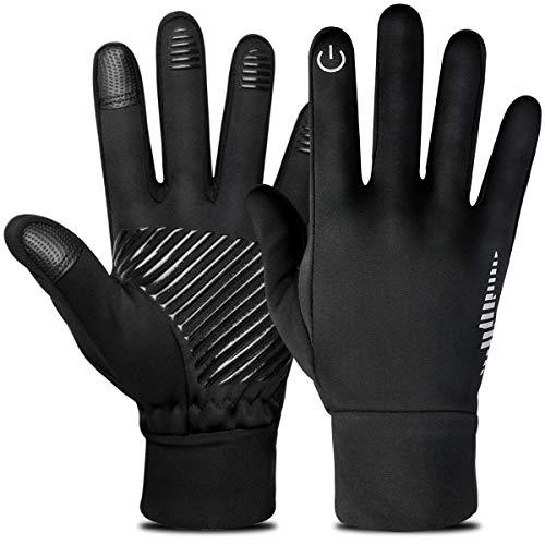 HASAGEI Touchscreen Handschuhe Winter Fahrrad Handschuhe Outdoor Winddicht Rutschfeste Trainingshandschuhe Vollfinger-Radsporthandschuhe Sporthandschuhe Radhandschuhe für Damen und Herren