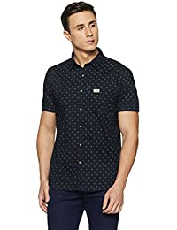 US Polo Association Men's Solid Regular Fit Casual Shirt