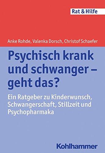 Cover »Psychisch krank und schwanger - geht das?«
