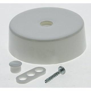 Heitronic 46150 Lampen-Deckenverteilerdose, weiß, inkl. 1 Verteilerdose, 1 Zugentlastung, 2 Abde