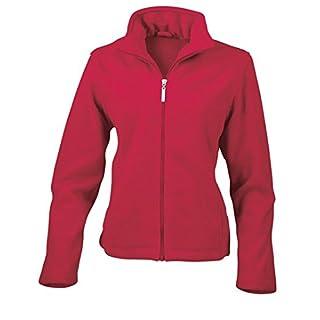 Result Women's RE85F Microfleece Jacket, Red, Medium