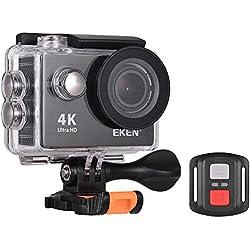 Eken H9r Ultra HD 4 K Action Camera WiFi contrôle étanche Sports Camera w/2,4 G télécommande Photo 12 MP 170 ° Grand Angle