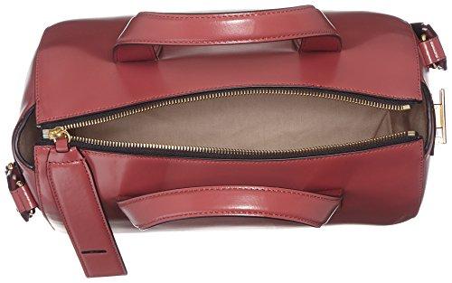HUGO Damen Suzi 10199296 01 Henkeltasche, 30x23x15 cm Braun (Open Brown)