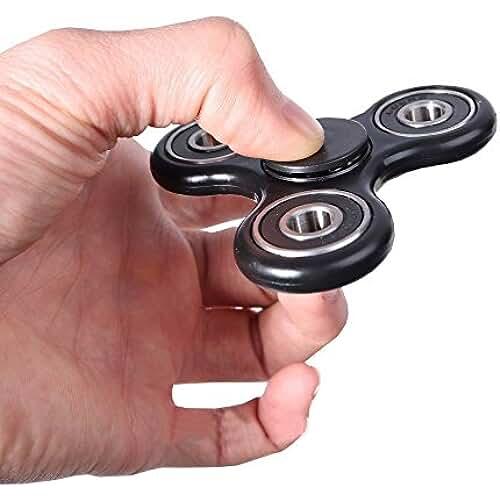 fidget spinner el nuevo juguete de moda Whirlerz Tri Fidget Hand Spinner Toy - 1 color al azar negro o rojo