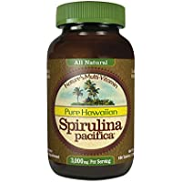 Nutrex Hawaii Hawaiian Spirulina Pacifica 1000 Mgs., 180-Tablet