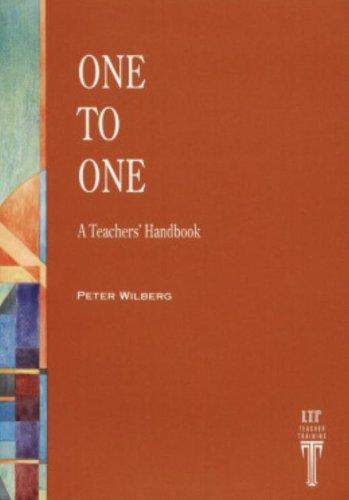 ONE TO ONE: A Teacher's Handbook