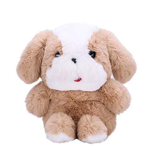 Floweworld Frauen Cartoon Hund Plüsch Umhängetaschen Pelz Kette Taschen Cute Fluffy Dog Sling Taschen Umhängetaschen für Mädchen